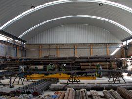 Instalación de Arco Techo